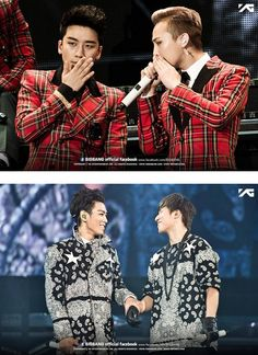 NyongTori and ToDae couple ♕ #BIGBANG // 's Dome Tour Concert @ Tokyo Dome 2013