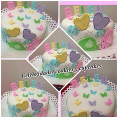 Torta baby shower niño