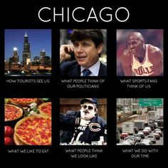 You know you're from Chicago when...
