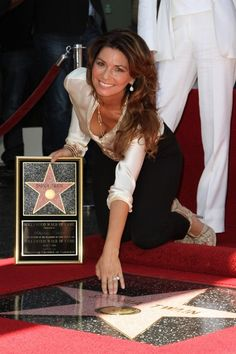 Shania Twain receives star on Hollywood Walk of Fame