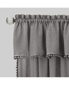 Achim Wallace Curtain Tier and Valance Set, Drapes Curtains, Valance, Curtains Kohls, Apartment Curtains, Curtain Panels, Rideaux Design, Curtain Designs, Decorate Your Room, Mattress Brands