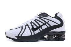 6569ce170741 Nike Shox Kpu White Black Mens Running Shoes Mens Nike Shox