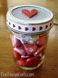 Gift in jar ideas