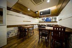 7坪の洋食屋さん。やればできる14帖。 店舗デザイン;名古屋 スーパーボギー http://www.bogey.co.jp