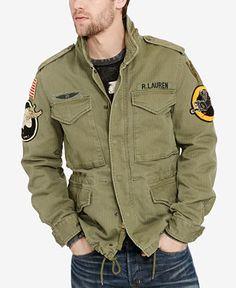 e099ced0c0 Denim   Supply Ralph Lauren Men s Patches Field Jacket