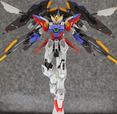 MG 1/100 Wing Gundam Proto Zero EW - Customized Build