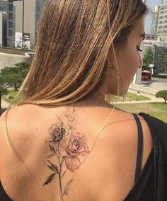 Floral back piece by Flower