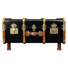 State Room Trunk  Coffeetable - Black Image 4