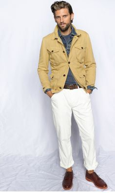 j.crew men's s/s 2012// classically rugged.