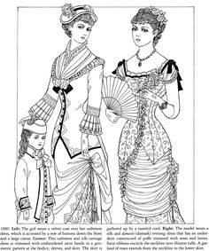 Printable Coloring Page Victorian Welcome to Dover Publications