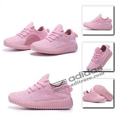 b4506afc8b88ff Adidas Yeezy Boost 350 Originals Chaussure Enfant Rose  aditrace