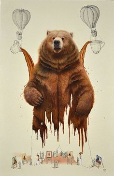 Coffee-bear on Behance, Ricardo Solis
