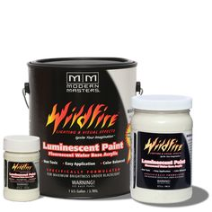 Wildfire Phosphorescent Paint - Glow Green - 32oz picture