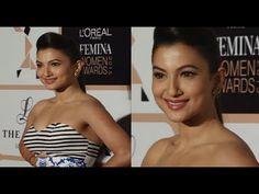 Gauhar Khan in a sleeveless dress at Femina Women Awards Gauhar Khan, Loreal, Gossip, Awards, Interview, Photoshoot, Music, Youtube, Dress