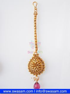 Indian Jewelry Store | Swasam.com: Tikka with Perls and White Stones - Tikka - Jewelry Shop to Buy The Best Indian Jewelry  http://www.swasam.com/jewelry/tikka/tikka-with-perls-and-white-stones-1516.html?___SID=U  #indianjewelry #indian #jewelry #tikka
