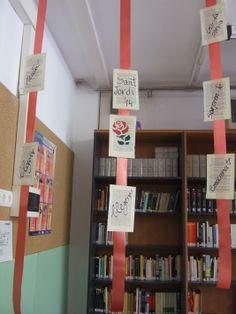 Sant Jordi 2014 | Decoració de la biblioteca