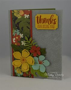 A Garden of Thanks (#GDP027) by mickeyinpsj - Cards and Paper Crafts at Splitcoaststampers
