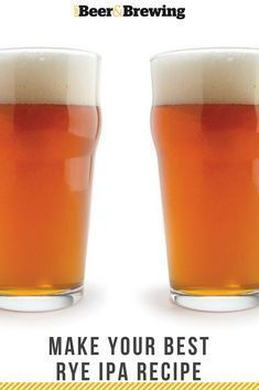 It's different than most IPAs on the market now, so try your homebrewing hand at this rustic version of an IPA.