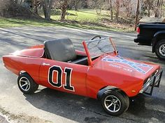 the general lee - Bubba Watson would be all over this.