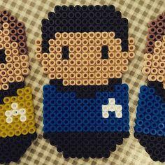 Mr. Spock - Star Trek hama beads by saeys saeys