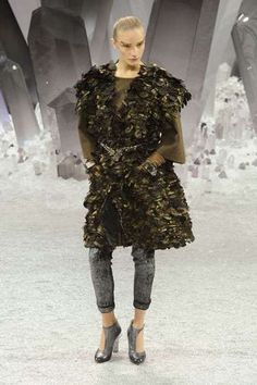 The Chanel Fall 2012 Earth-Disguised Designs are Ethereal trendhunter.com