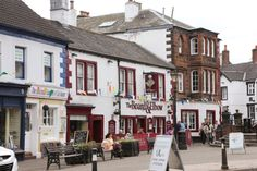 Is #Penrith the perfect town? Shops by Penrith Corn Market.