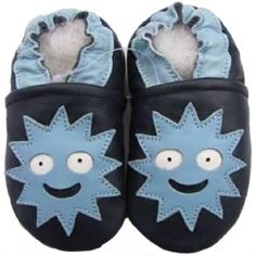 "Zapatos de gateo ""Soles"" /   Crawing shoes"