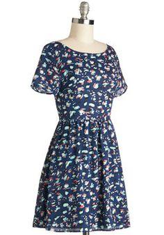 Potluck Pretty Dress, #ModCloth