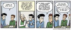 PHD Comics: Faculty Encounter