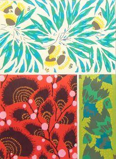 Eugene Alain Seguy - Art Deco patterns // flowers & plants