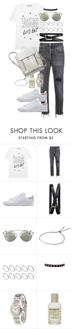 """""""Today, tomorrow and forever"""" by marissa-91 ❤ liked on Polyvore featuring Être Cécile, RE/DONE, adidas Originals, Banana Republic, Christian Dior, Michael Kors, ASOS, Cartier and Le Labo"""