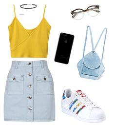 """Love fashion"" by espairecida on Polyvore featuring moda, MINKPINK, adidas e MANU Atelier"