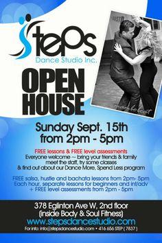 Steps Open House | TorontoDance.com