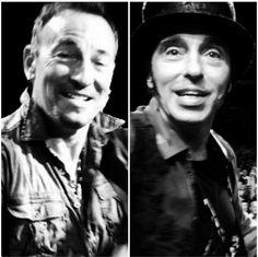 Bruce Springsteen and Nils Lofgren