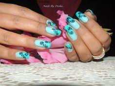 gradient nails by nailsbydisha - Nail Art Gallery nailartgallery.nailsmag.com by Nails Magazine www.nailsmag.com #nailart