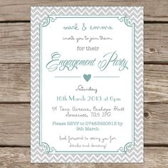 51 best engagement invitations images on pinterest engagement