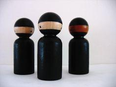ninja peg doll