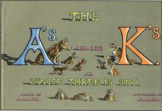 The A's and the K's or Twice Three is Six, written by B. Parker, illustrations from N. Kids Poems, Dog Books, Scottie, My Images, Childrens Books, Verses, Third, Terrier, Writing