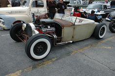 Hot Rod Roadster by KID DEUCE, via Flickr