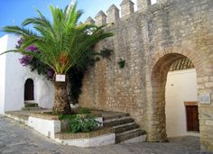 "The Puerta Cerrada (""Closed Gate""_ one of the original archways in the old walls of Vejer de la Frontera, Cadiz, Spain by Spencer Means"