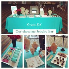 Chocolate Theme Jewelry Bar