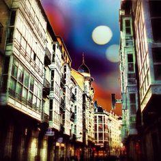 """""""Calle San Juan de #Burgos"""" ...por @neocroma en #Instagram"""