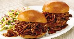 Sweet and tangy describe this mild, family-style BBQ pork. Start with a boneless shoulder roast or substitute a boneless loin roast for a lower fat BBQ.