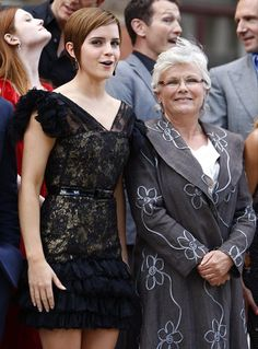 "Hermione with her ""mother-in-law"""