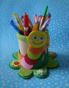 The best crafts Kids Crafts, Tin Can Crafts, Foam Crafts, Preschool Crafts, Diy And Crafts, Arts And Crafts, Toilet Paper Roll Crafts, Paper Crafts, Diy Y Manualidades