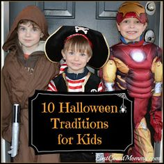 10 Halloween traditions for kids