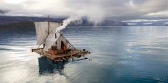 Omgosh!!! Camping adrift! If only...