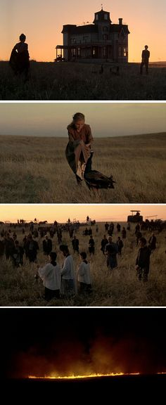 Days of Heaven / Stills / Film directed by Terrence Malick The magic hour
