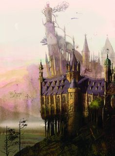 Images from the new illustrated edition of Harry Potter and the Sorcerer's Stone. Here's artist Jim Kay's stunning depiction.