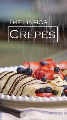 Easy Crepe Recipe Crepes Are Such A Unique Brunch Menu - easy crepe recipe crepes sind so ein einzigartiges brunch-menü Easy Crepe Recipe Crepes Are Such A Unique Brunch Menu - brunch recipes Crock Recipes Breakfast Video, Mexican Breakfast Recipes, Pancake Recipes, Waffle Recipes, Sausage Recipes, Casserole Recipes, Homemade Crepes, Homemade Breakfast, Authentic French Crepes Recipe